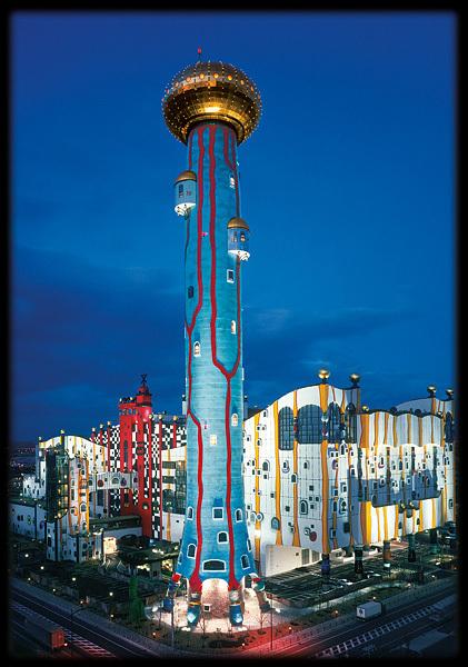 Buy Hundertwasser Postcard Mop Maishima Sludge Center In Japan