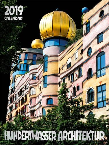 hundertwasser architektur kalender postkarten und poster. Black Bedroom Furniture Sets. Home Design Ideas