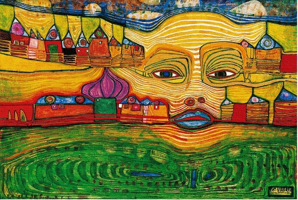 High Houses Painting Hundertwasser Facts