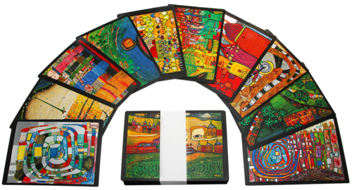 Hundertwasser Art-Card-Set