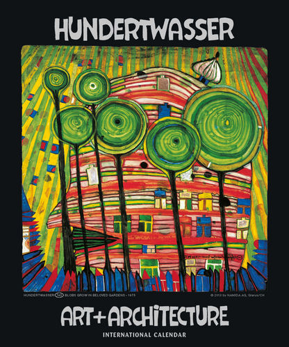 Hundertwasser International Calendar - Art + Architecture