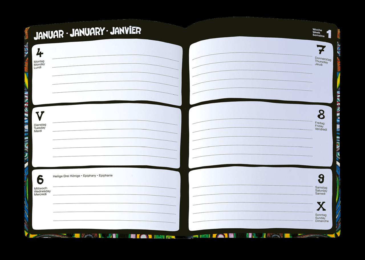 Buy Hundertwasser Agenda 2021 Hundertwasser Pocket Diary