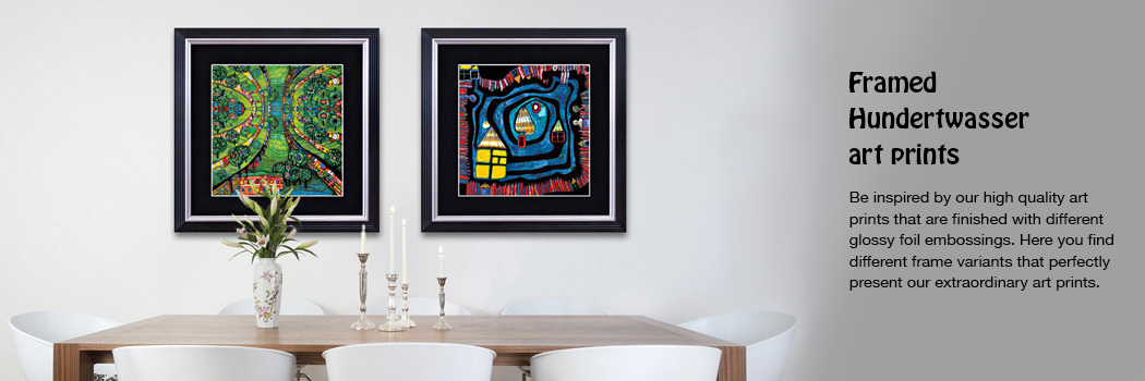 Buy Hundertwasser paintings, posters and calendars from the manufacturer