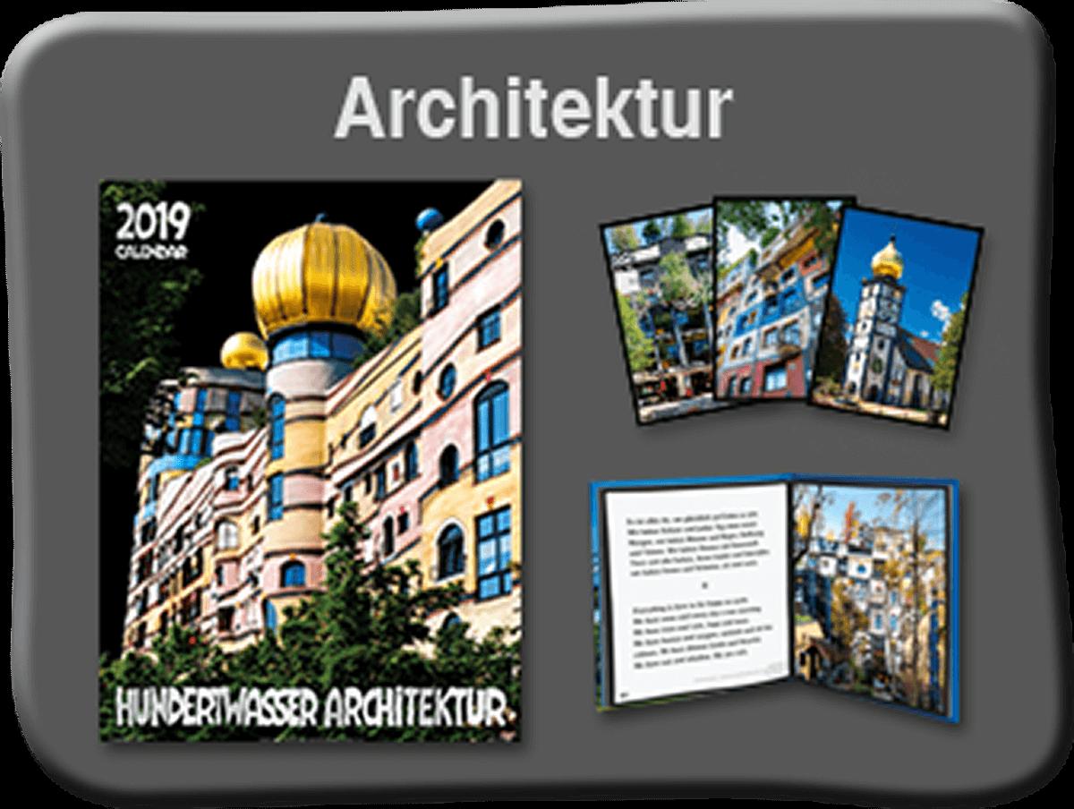 Hundertwasser bilder poster und kalender vom hersteller for Hundertwasser architektur