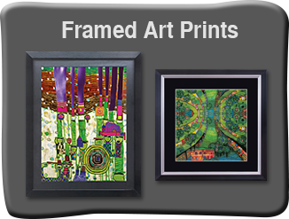 Hundertwasser Framed Prints
