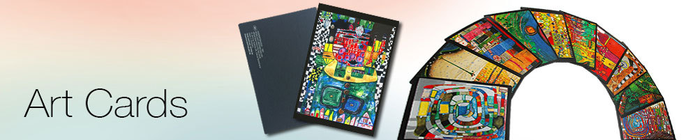 Hundertwasser Postcards and Art Cards